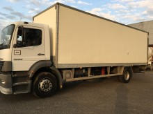 used Mercedes plywood box truck