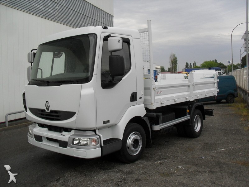 Camion renault benne midlum 4x2 gazoil euro 3 for Porte universelle benne