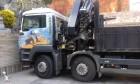 camión caja abierta estándar MAN usado