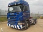 used Scania moving box truck