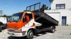 camião basculante Mitsubishi usado