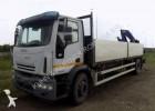camion platformă si obloane Iveco second-hand