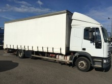 used Iveco tautliner truck