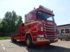 Scania R580 met kraan LOW KILOMETER!!! truck