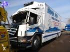 camion frigo monotemperatura Scania incidentato