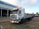 camión caja abierta Scania usado