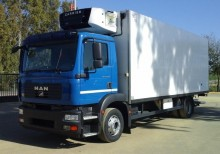 camion frigo multitemperature MAN usato