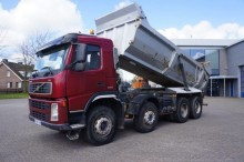 camión Volvo FM13-440 8x4 Tipper Full Steel Suspension 2006