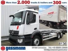 camion Mercedes Antos 2527L 6x2 Kühlkoffer mit gel.Nachlaufachse