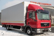 camion cassone centinato alla francese MAN usato