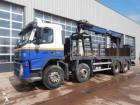 used Volvo aerial platform truck