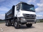 new Mercedes tipper truck