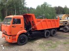 camion benne Enrochement Kamaz occasion