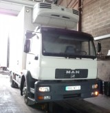 camion frigo trasporto carne MAN