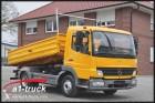 camion Mercedes Atego 815 Kipper, Meiller 3 SK, 117 Tkm. Original, TÜV 12/2016