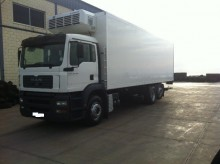 used MAN multi temperature refrigerated truck