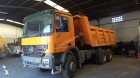 used Mercedes half-pipe tipper truck