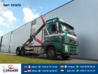 vrachtwagen Volvo FH16.550 6X4 HOOK MANUAL FULL STEEL EURO 3