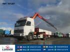 camión Volvo FH12.460 6X2 OPEN BOX WITH PALFINGER PK16000
