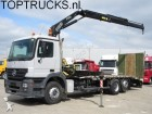 camion Mercedes Actros 2532 FASSI F17 CRANE/KRAN + RAMP + WINCH