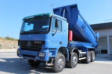 camion halfpipe tipper Mercedes