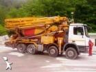 camion béton malaxeur + pompe Mercedes occasion