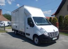 ciężarówka furgon Renault używana