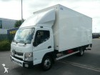 camión furgón caja polyfond Mitsubishi Fuso usado
