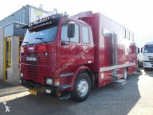 camión Scania 92, 3x horsetruck, + living cabine + manual + go