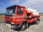 used DAF chemical tanker truck
