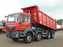 camion MAN TGS 41.390 8X4 BB STEEL 20M3