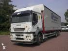 camion cassone centinato teloni scorrevoli Iveco usato