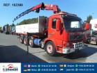 vrachtwagen Volvo FM12.420 8X2 WITH HMF 2220 MANUAL EURO 3