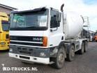 DAF 85 330 ATI 8x4 steel mixer truck