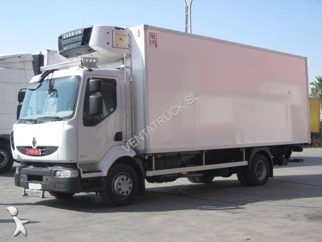location camion renault frigo carrier midlum 4x2 euro 5 occasion n 1718453. Black Bedroom Furniture Sets. Home Design Ideas