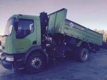 used Renault tipper truck