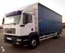 camión lona corredera (tautliner) sistema de lona corrediza MAN usado