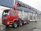 camion MAN TGA 35.480 8x4 with 81 ton/meter crane + JIB