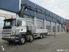camion Scania R 124.470 8x4 etade with Hiab 70 ton/mete c