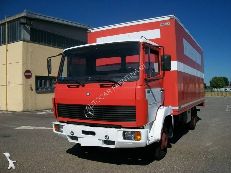 Camion mercedes furgone 914 euro 0 sponda usato n 1719354 - Portata massima camion italia ...