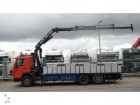camión Volvo FL 10.320 6X2 OPEN BOX WITH HMF 1703K3 CRANE