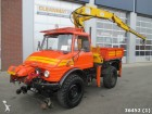 camion polybenne Unimog occasion