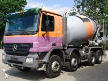 camión Mercedes Actros 3236 8x4 EURO5 BETONMISCHER STETTER 9m3