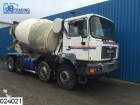 camión MAN 35 364 8x4, Manual, Naafreductie, 9 M3, Steel su