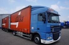 camión lonas deslizantes (PLFD) DAF usado