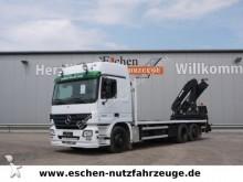 camión Mercedes 2536 L, 6x2, MKG HLK 161 Kran, Klima