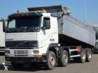 vrachtwagen Volvo FH12 380 8X4 FULL STEEL TIPPER / BIG AXLES