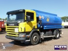 used Scania tanker truck