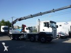 camion platformă Scania second-hand