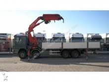 camión Mercedes Actros 4143 8X4 OPEN BOX WITH FASSI F 660 XP CRA
